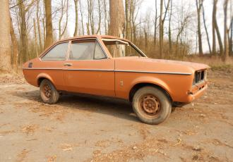 Ford Escort Mk2 Shell project GP4